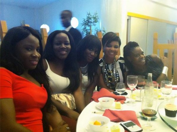 Toolz pre surprise birthday dinner - July 2013 - BellaNaija (4)