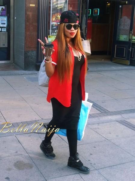 Are You Feeling Toyin Lawani's Sporty Street Style Look ...