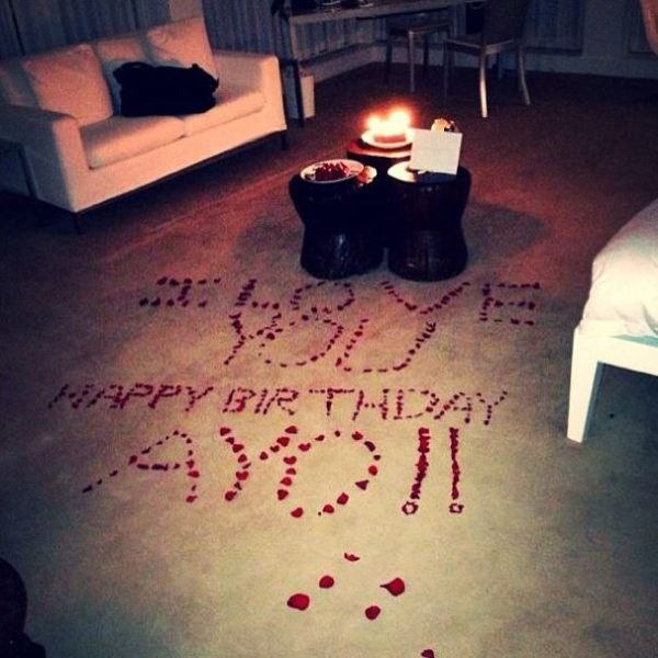 Love On Planet Wizkid! Check Out His Girlfriend Tania Omotayo's Romantic Birthday
