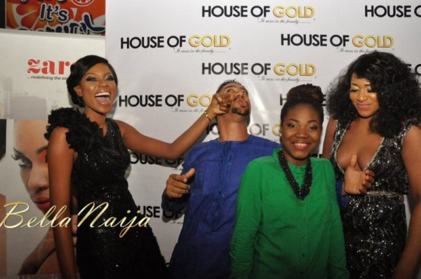 Yvonne Nelson & Majid Michel at the House of Gold Premiere