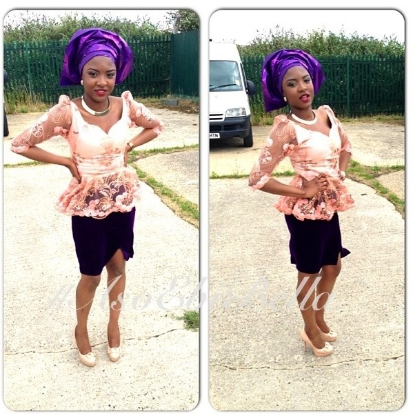 aso ebi nigerian traditional wedding asoebibella