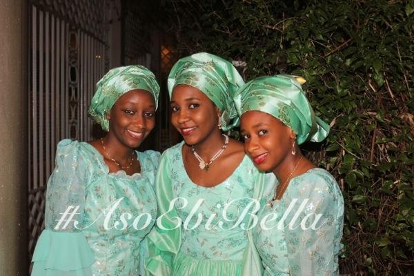 aso ebi nigerian traditional wedding mint green gele
