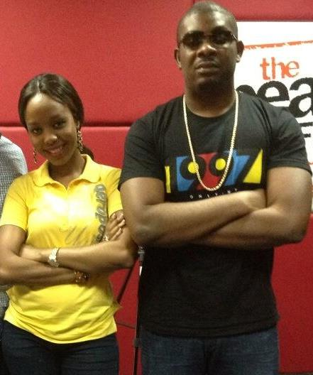 Ayo-Vincent-and-Don-Jazzy-at-The-Beat-FM-studio-