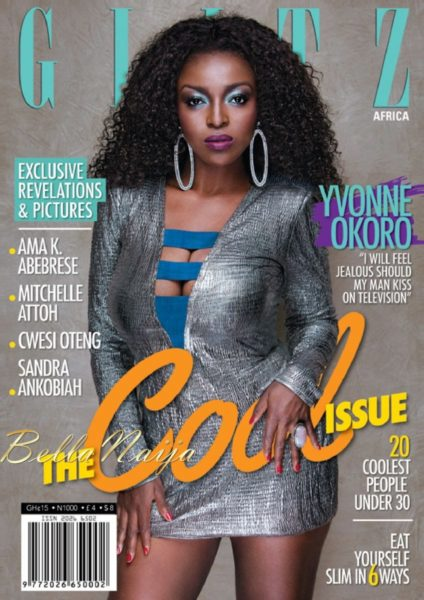 BN Exclusive - Yvonne Okoro - Glitz Africa Magazine - August 2013 - BellaNaija001