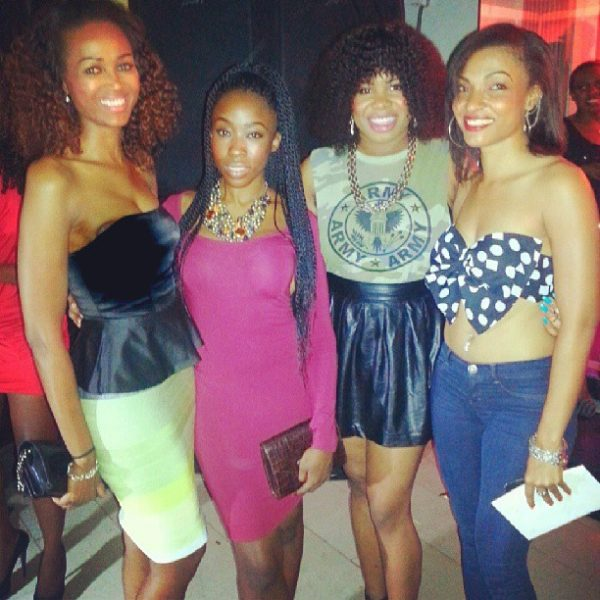 Barbz, Beverly Naya, Ijay of KrazyKulture and Andrea Manuela Giaccaglia
