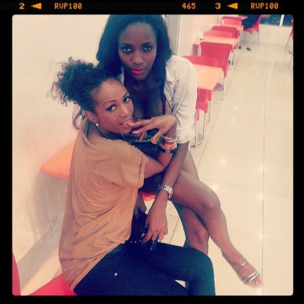 THE GIST Ex-BBA Housemates Barbz and Zainab Kiss and Share
