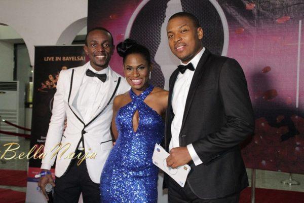 """Abdul Mohammed, Yvonne """"Vixen""""Ekwere & Chris Okenwa"""