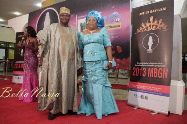 Diepreye Alamieyeseigha & Wife