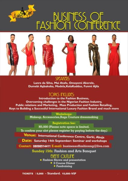 Business of Fashion Conference - BellaNaija - August 2013