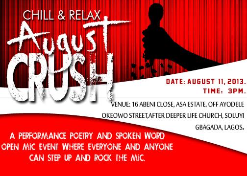 Chill & Relax August Crush - August 2013 - BellaNaija