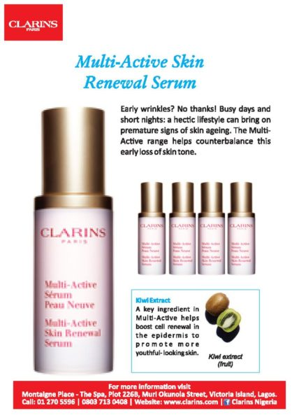 Clarins Serum - BellaNaija - August 2013 (2)