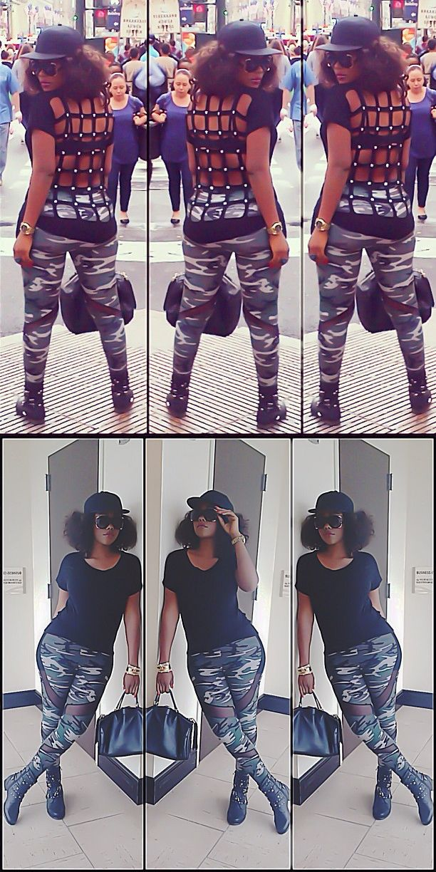 Daniella Okeke takes on New York looking...
