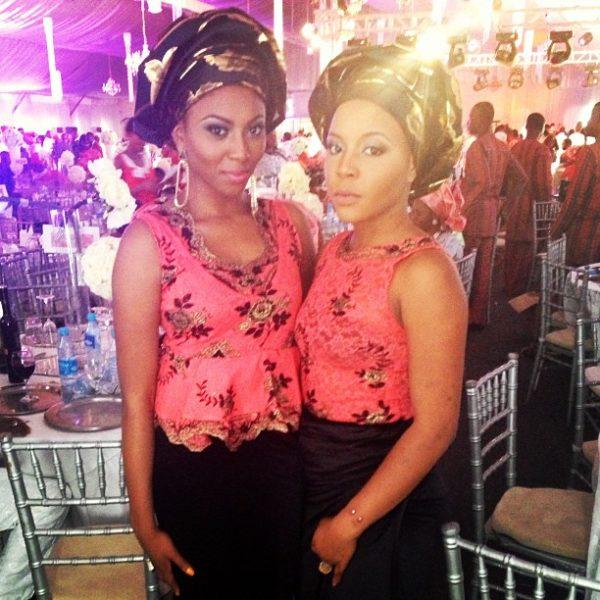 TV Presenter Stephanie Coker and Lola OJ