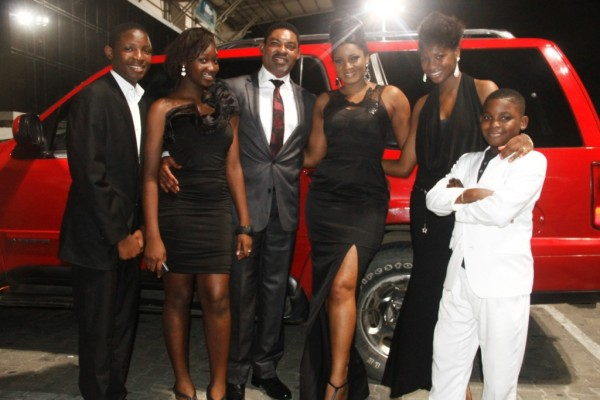 The Ekeinde Clan at the Lagos Premiere of Last Flight to Abuja in August 2012