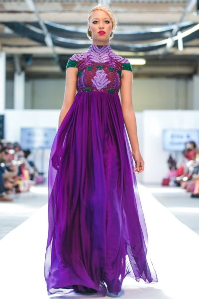 Ella and Gabby Africa Fashion Week London 2013 - BellaNaija - August 2013 (1)