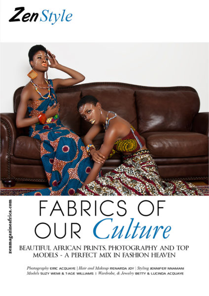 Eric Acquaye Fabrics of Our Culture Zen Magazine Fashion Editorial - BellaNaija - August 2013 (1)