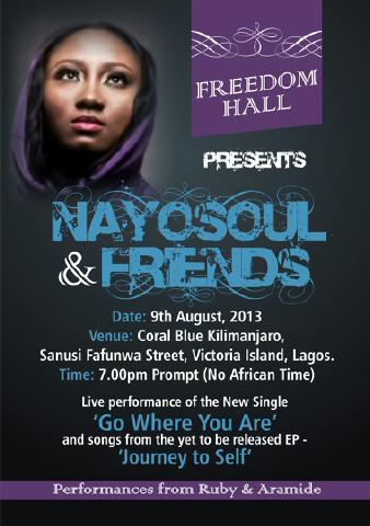 Freedom Hall presents Nayosoul & Friends