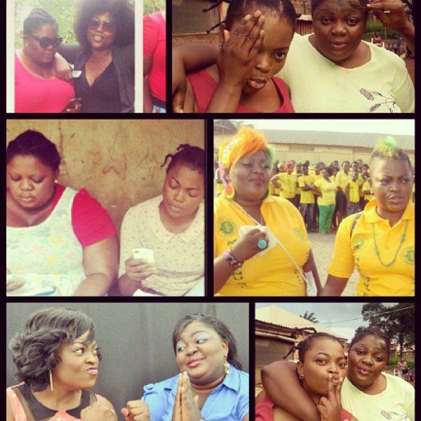Funke Akindele Eniola Badmus - August 2013 - BellaNaija