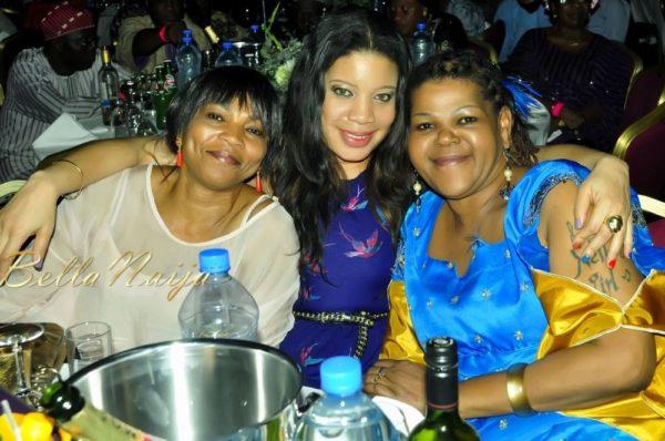 Monalisa Chinda & Gloria Ibru