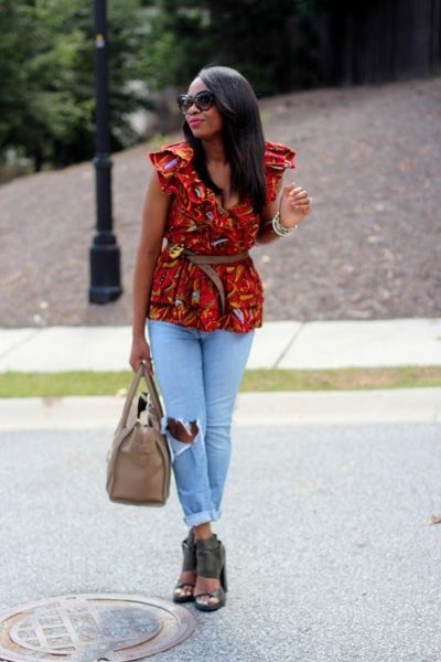 How to Wear Ankara in a Modern Way by Monica - BellaNaija - August 2013 (2)