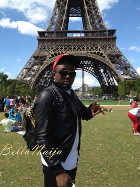 Ice Prince vacations in Paris, France - August 2013 - BellaNaija 022