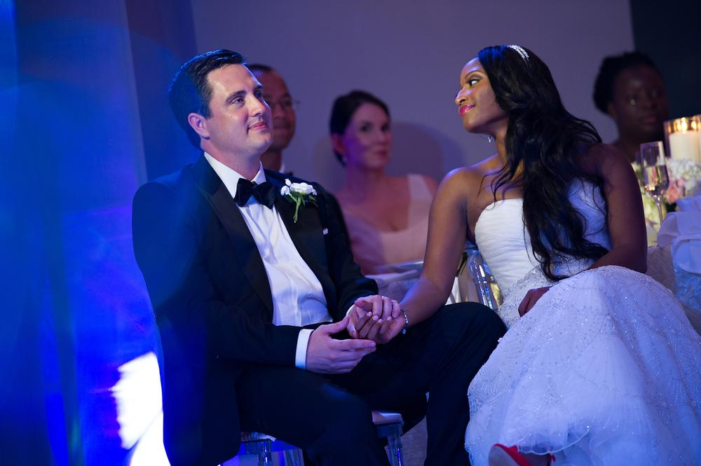It Was Magical Cnn S Isha Sesay Ties The Knot With Leif