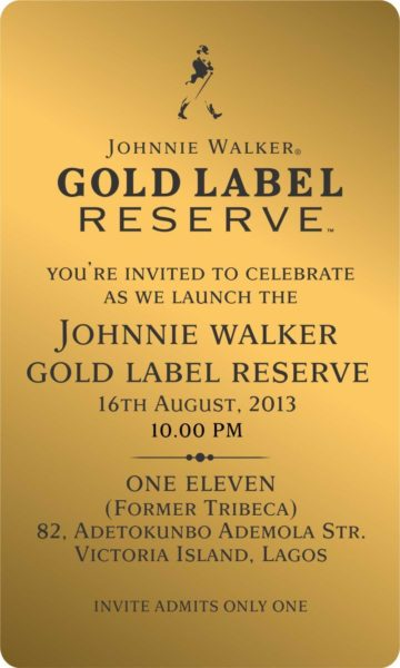 Johnnie Walker Gold Label launch - BellaNaija - August 2013