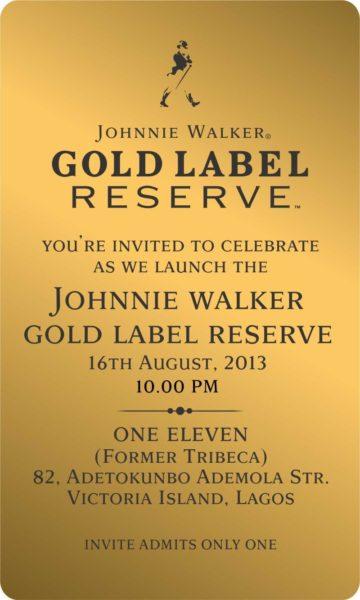 Johnnie Walker Gold Label launch - BellaNaija - August 2013