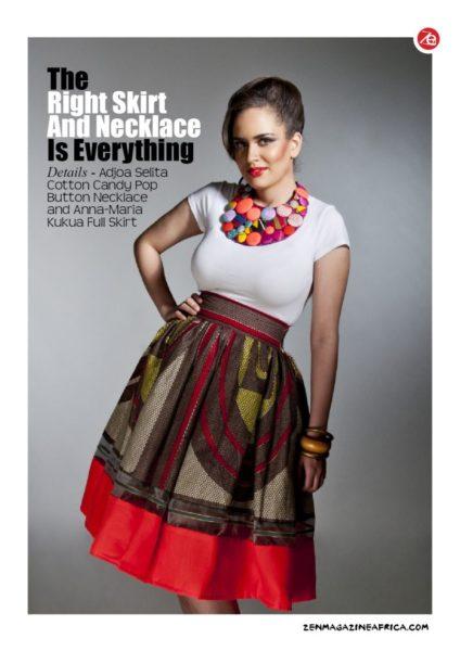 Kaela Kay Zen Magazine Fashion Editorial - BellaNaija - July2013 (4)