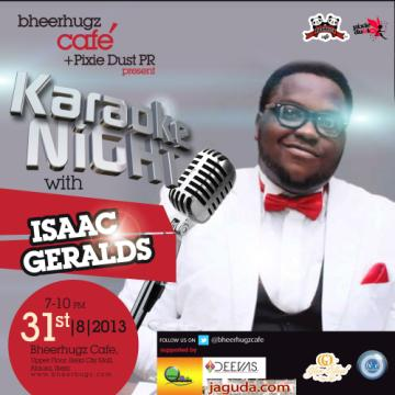 Karaoke Night with Isaac Geralds