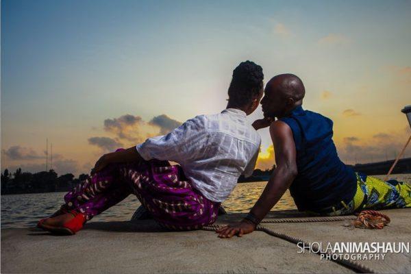 Katung Aduwak & Fancee Raven Taylor Pre-Wedding Shoot by Shola Animashaun  - August 2013 - BellaNaija 024