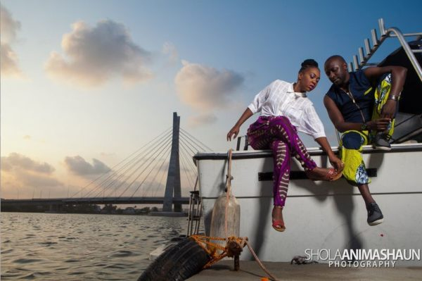 Katung Aduwak & Fancee Raven Taylor Pre-Wedding Shoot by Shola Animashaun  - August 2013 - BellaNaija 025