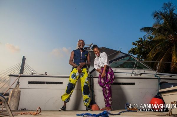 Katung Aduwak & Fancee Raven Taylor Pre-Wedding Shoot by Shola Animashaun  - August 2013 - BellaNaija 027