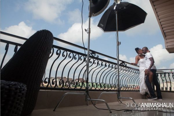 Katung Aduwak & Fancee Raven Taylor Pre-Wedding Shoot by Shola Animashaun  - August 2013 - BellaNaija 044