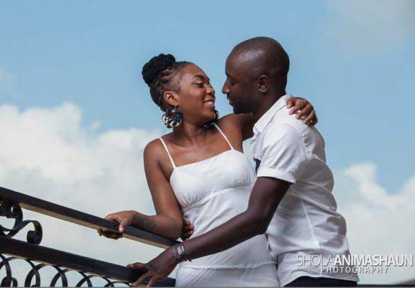 Katung Aduwak & Fancee Raven Taylor Pre-Wedding Shoot by Shola Animashaun  - August 2013 - BellaNaija 045