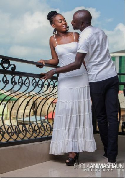 Katung Aduwak & Fancee Raven Taylor Pre-Wedding Shoot by Shola Animashaun  - August 2013 - BellaNaija 046