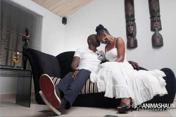 Katung Aduwak & Fancee Raven Taylor Pre-Wedding Shoot by Shola Animashaun  - August 2013 - BellaNaija 050