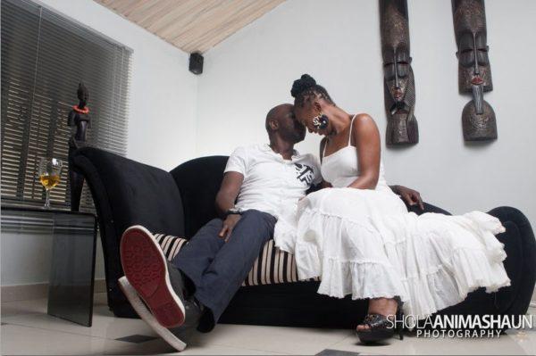 Katung Aduwak & Fancee Raven Taylor Pre-Wedding Shoot by Shola Animashaun  - August 2013 - BellaNaija 050