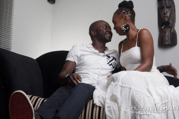 Katung Aduwak & Fancee Raven Taylor Pre-Wedding Shoot by Shola Animashaun  - August 2013 - BellaNaija 051