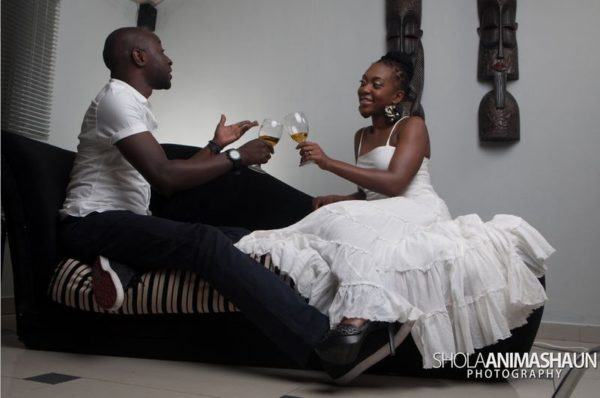 Katung Aduwak & Fancee Raven Taylor Pre-Wedding Shoot by Shola Animashaun  - August 2013 - BellaNaija 052