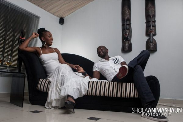 Katung Aduwak & Fancee Raven Taylor Pre-Wedding Shoot by Shola Animashaun  - August 2013 - BellaNaija 055