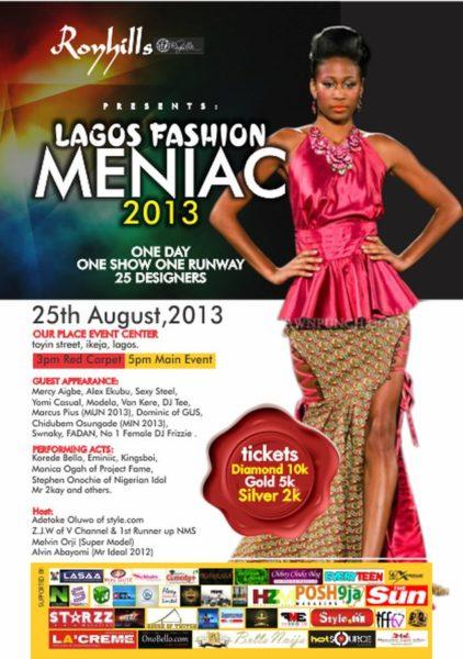 Lagos Fashion Menaic Show 2013