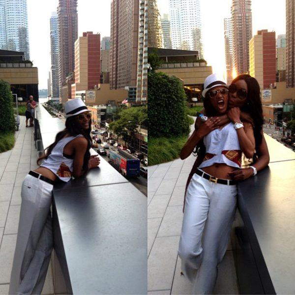 Millen Magese Funmi New York - August 2013 - BellaNaija