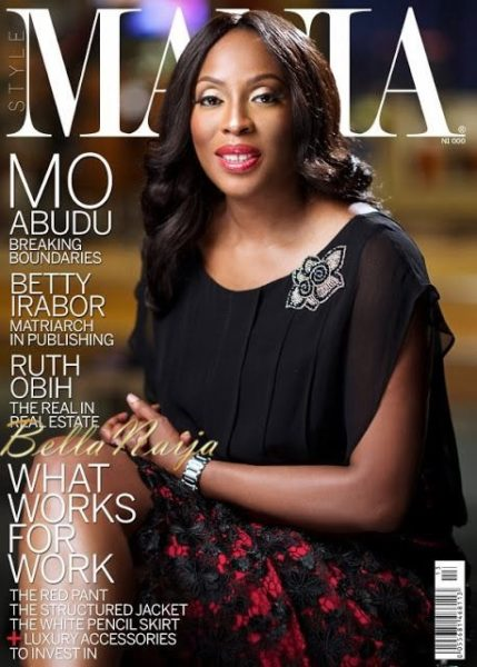 Mo Abudu covers StyleMania Magazine's Ausgust 2013 Issue - August 2013 - BellaNaija 022