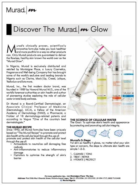 For Healthy Youthful Skin Discover Murad S Range Of Skin Care
