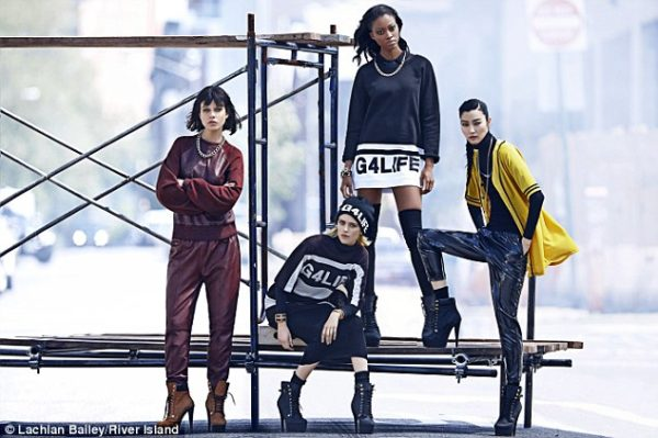 Nyasha Matonhodze for Rihanna for River Island Aw 2013 - Bellanaija - August2013003