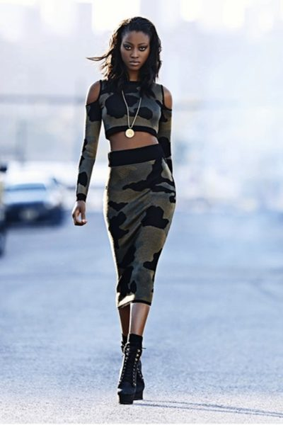 Nyasha Matonhodze for Rihanna for River Island Aw 2013 - Bellanaija - August2013005