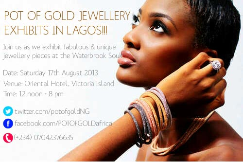 Pot of Gold Jewelry -August 2013