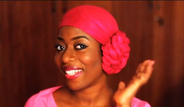 SisiYemmie Head Wrap Tutorial - Bellanaija - August 2013