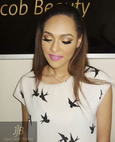 Tanias Makeup Look - BellaNaija - August 2013001